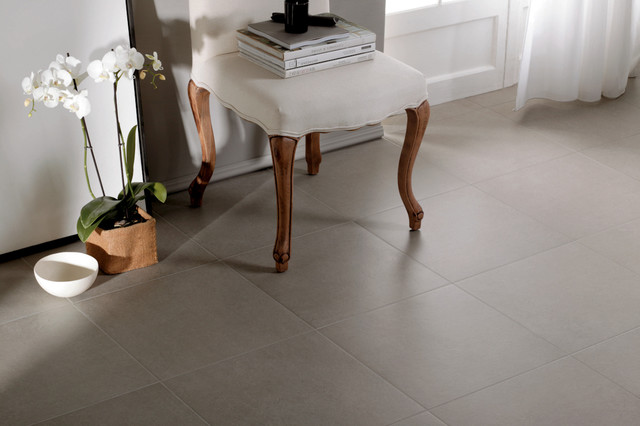 Contemporary Large Tile Floor And Wall Options Are Also Trending Up In  Design Currently. As You Can See Above, Minimizing The Grout Line And Going  With ...