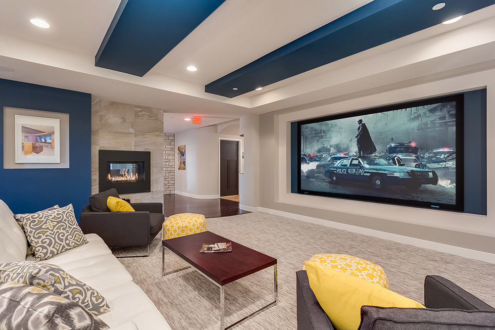 We Have Been Working With A Client On Design For Their Home Theater Set Up  In Their Basement. Framing Is Scheduled To Start Very Soon. As You Can  Imagine, ...
