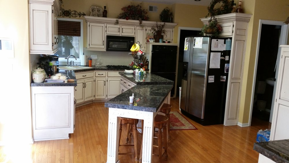 2016 KC NARI Silver Award Winner Residential Kitchen $30,000 to $60,000 (before picture)