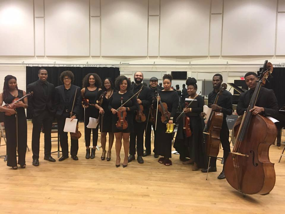 Illharmonic Orchestra Backstage at Kennedy Center - November 2016