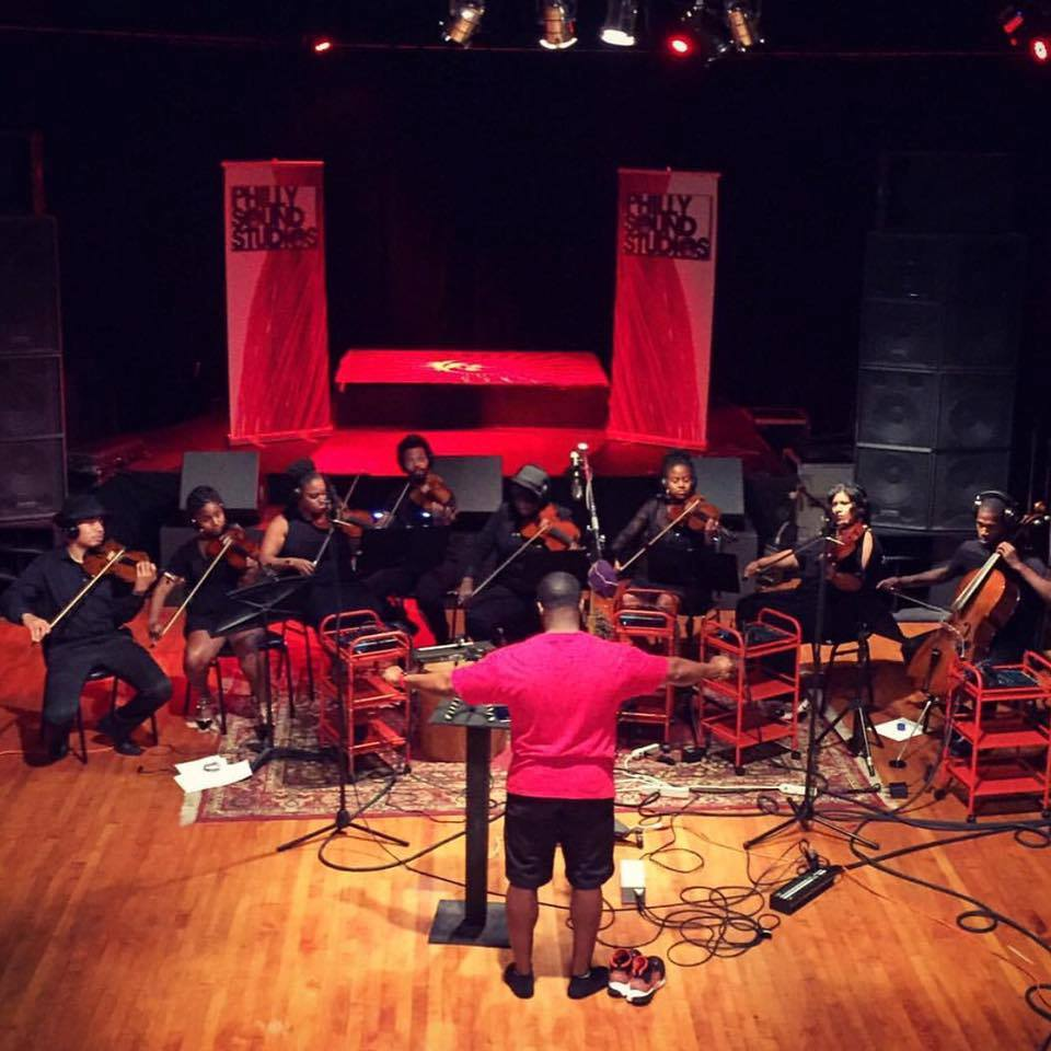 Illharmonic Orchestra Recording Session at Philly Sound Studios - July 2015