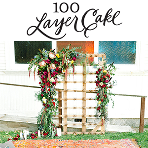 BOHEMIAN WEDDING INSPIRATION Styled wedding shoot designed by One Darling Day. Featured in 100 Layer Cake in October 2015.