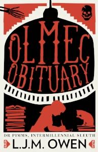 OLMEC OBITUARY B-FORMAT COVER