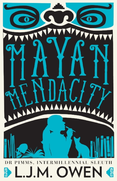 'm'ayan mendacity' - out november 2016  cover by designbycommitee.com.au