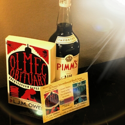 the 'name a character in book three' pack at the bouchercon silent auction
