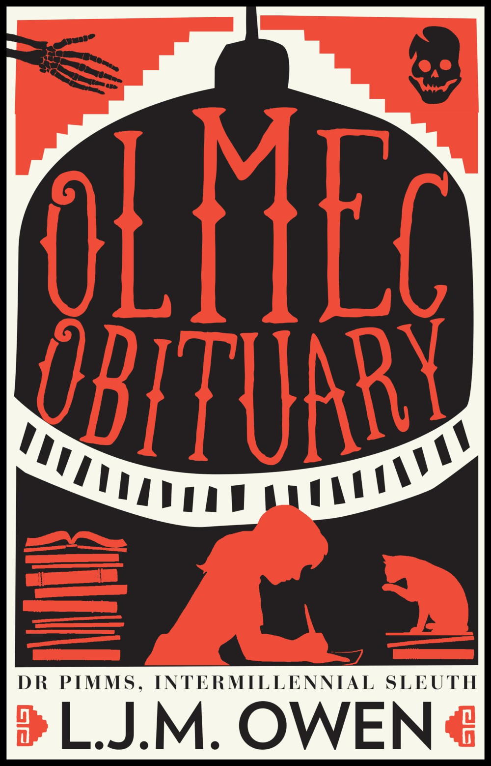 OLMEC OBITUARY , DR PIMMS BOOK ONE