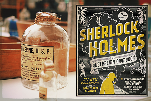 SHERLOCK HOLMES:  THE AUSTRALIAN CASEBOOK   IS AVAILABLE  THROUGH BOOKTOPIA