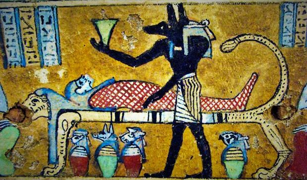 anubis embalming