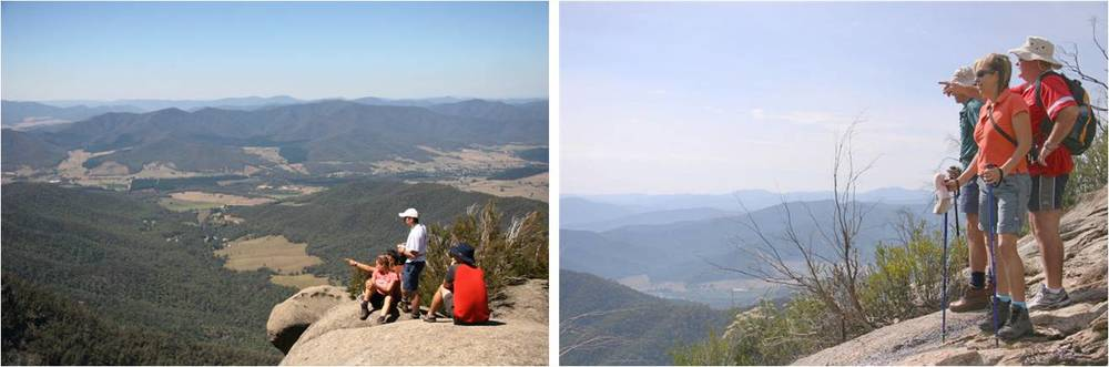 Stunning views from Mt Buffalo National Park