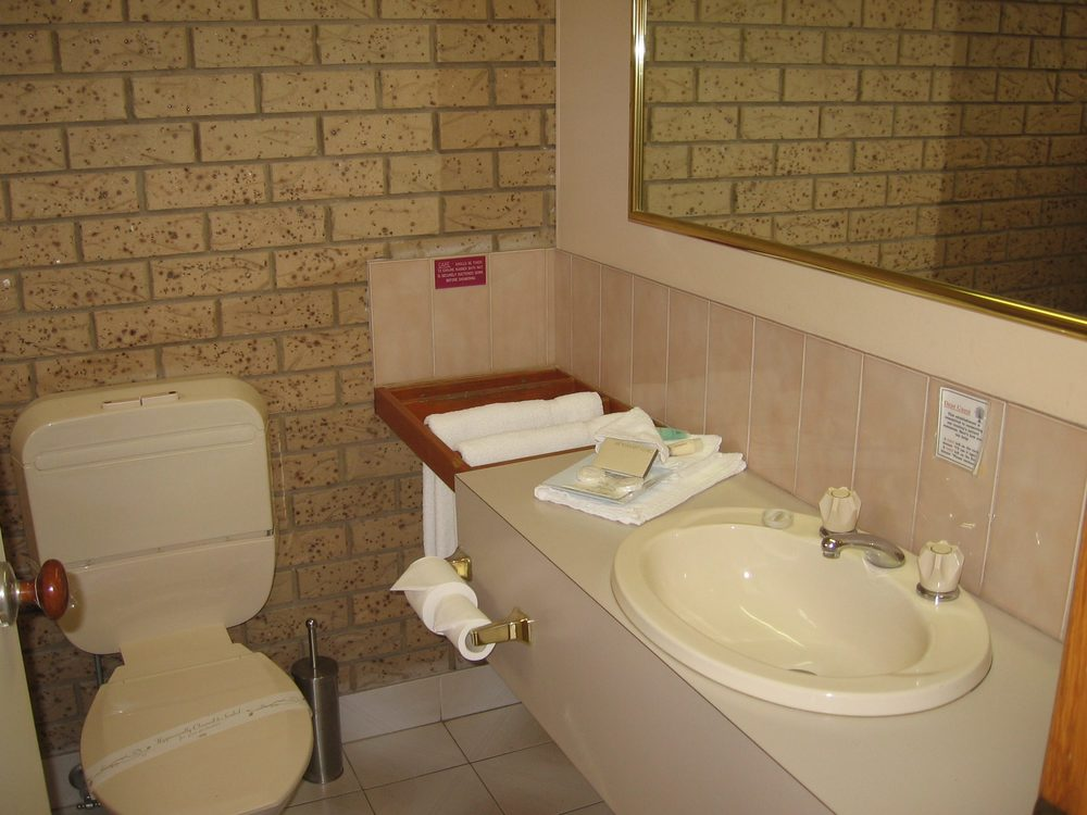 Ensuite in 3.5 star room