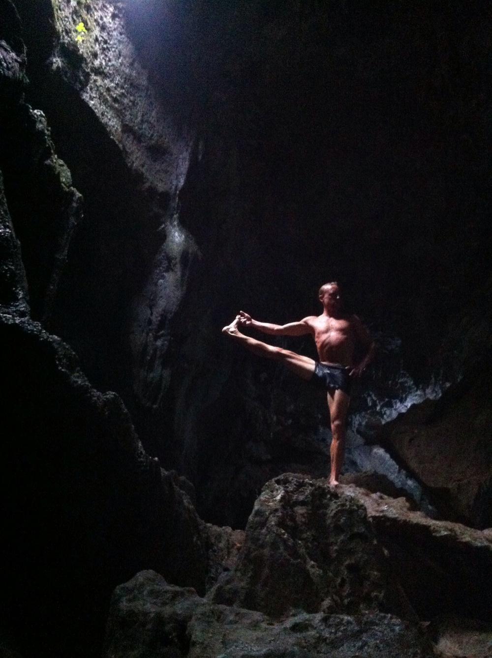 Yoga adventures in nature