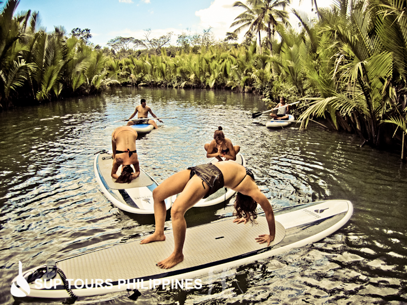 Relax in nature by the Loboc River with SUP Tours Philippines