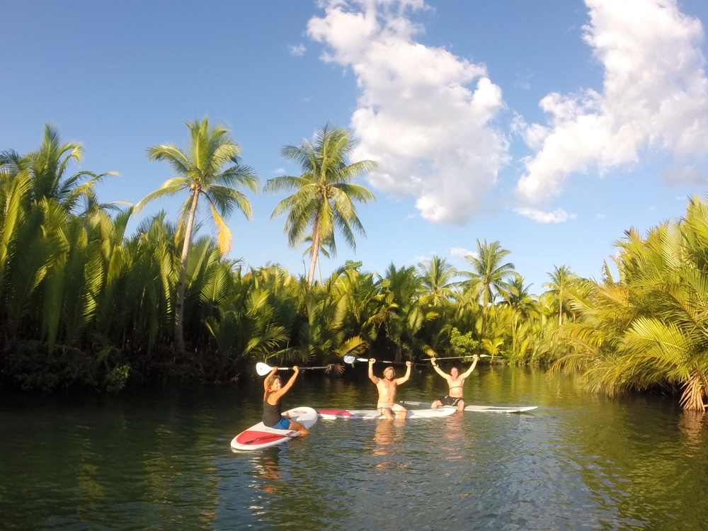 The most Eco-friendly way to explore the Loboc River by standup paddleboarding