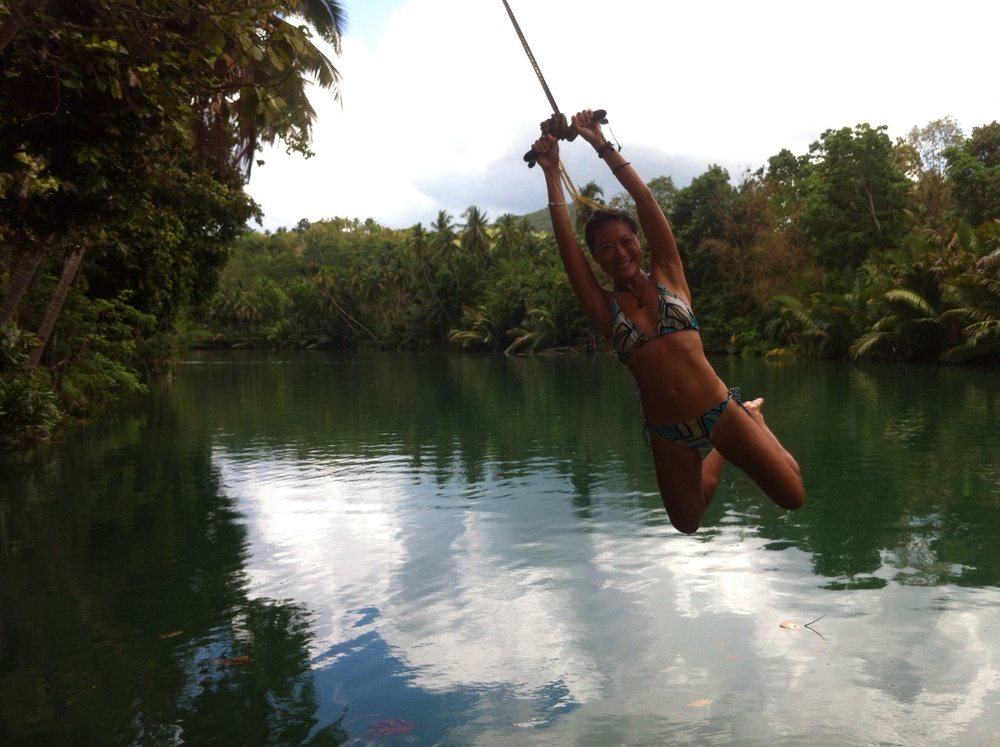 Play on our rope swing and enjoy in nature