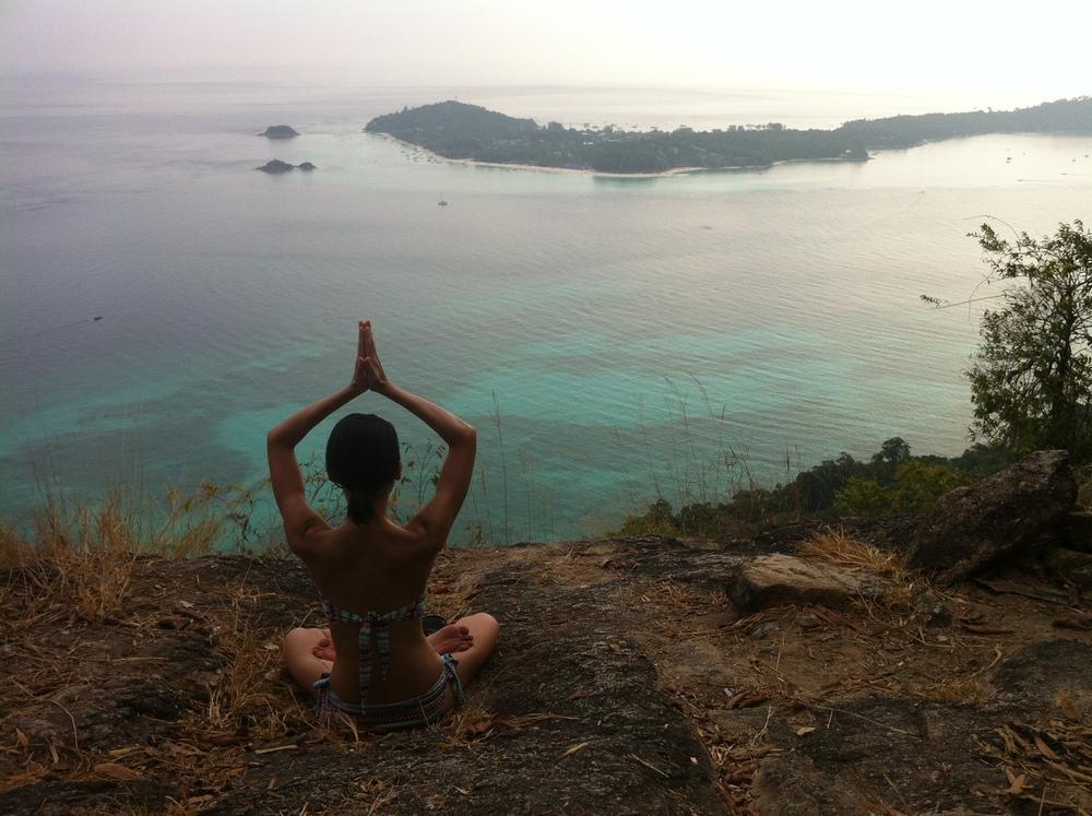 Qi Retreats first beach yoga retreat in Ko Lipe, Thailand in 2014.