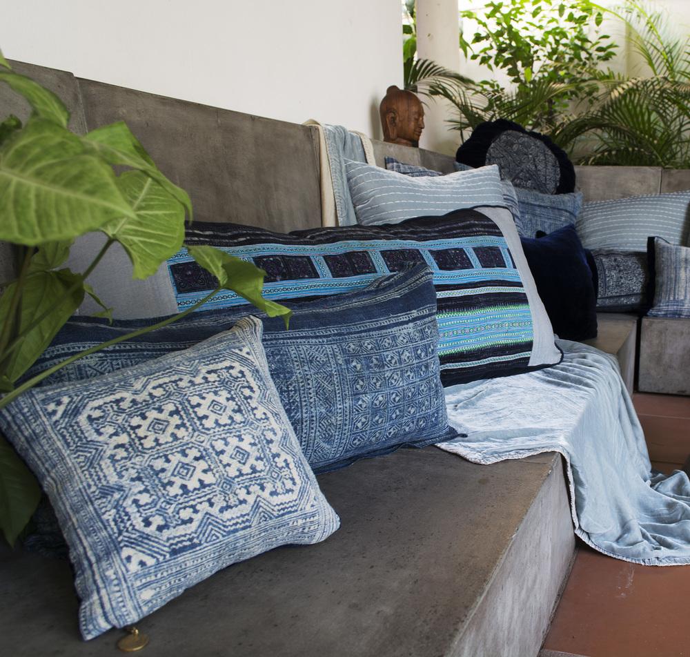 Lily Koi Vintage Indigo Ercu Pillow.jpg
