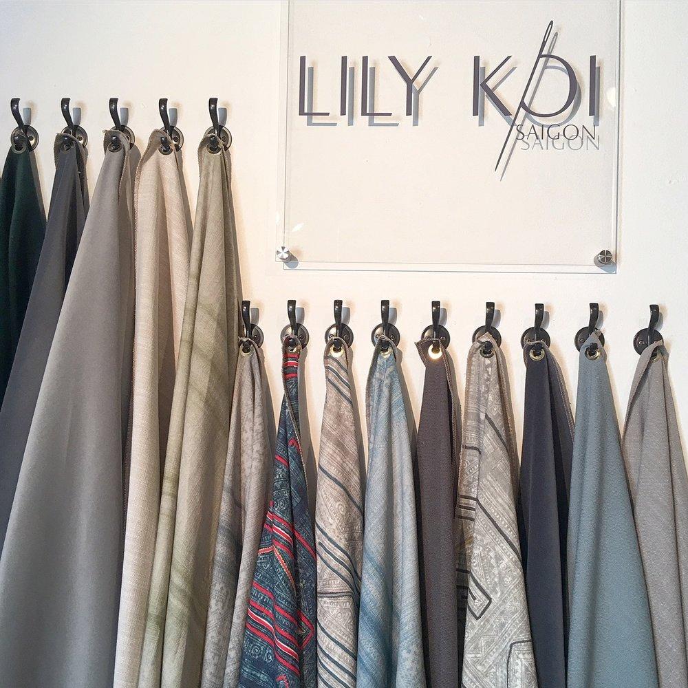 LilyKoi Textile wall.JPG