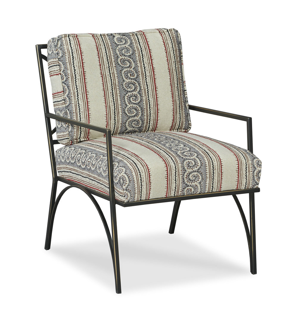 Henry Chair - Generations Fabric - Front