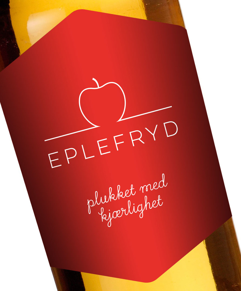 Label til eplemost