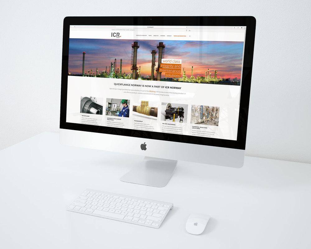 Ny nettside for ICR Norway