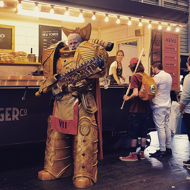 Saw this robot and other robots at Manchester #comiccon