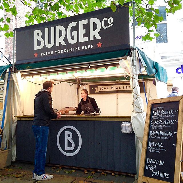 York city centre. Here all week. Try the veal.