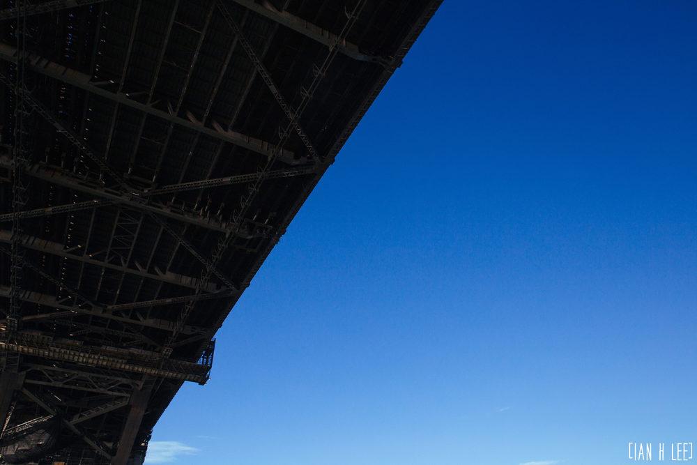 [Ian H Lee] Photography || Travel - Sydney :: Underside Of Harbor Bridge.jpg