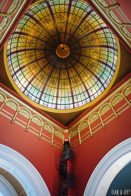 [Ian H Lee] Photography || Travel - Sydney :: QVB Dome 2.jpg