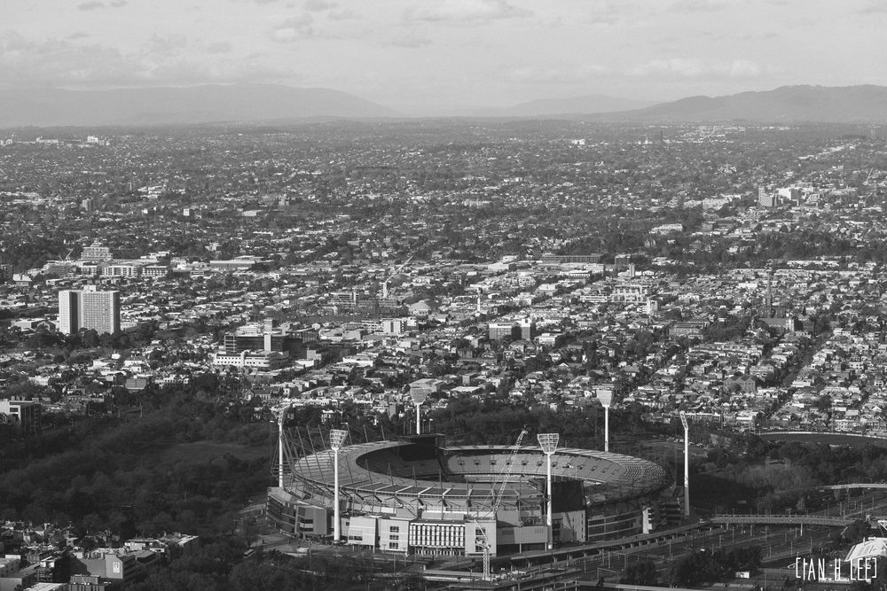 [Ian H Lee] Photography || Travel - Melbourne :: MCG Close BW.jpg