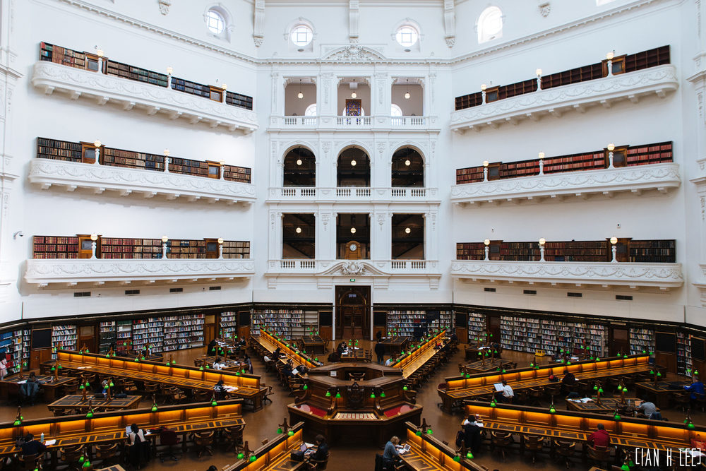 [Ian H Lee] Photography || Travel - Melbourne :: State Library.jpg
