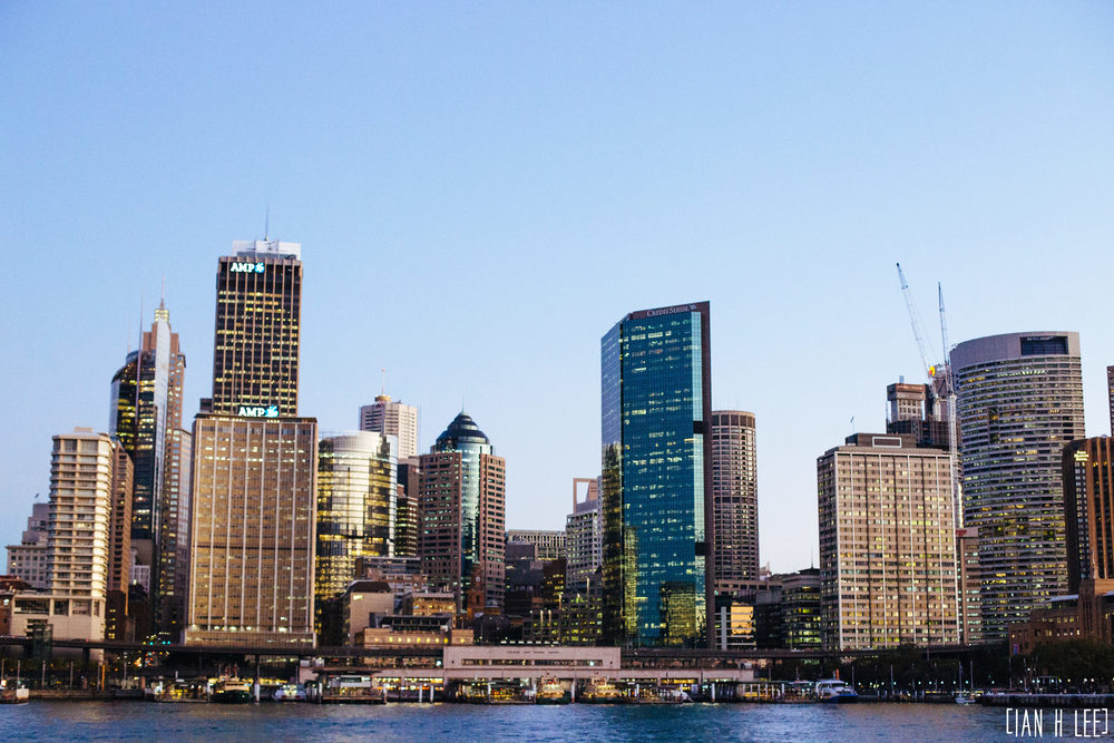 [Ian H Lee] Photography || Travel - Sydney :: Circular Quay Sunset.jpg
