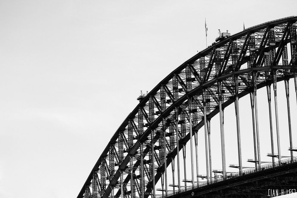 [Ian H Lee] Photography || Travel - Sydney :: Harbour Bridge Details.jpg