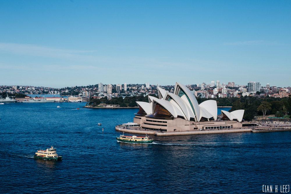 [Ian H Lee] Photography || Travel - Sydney :: Opera House Boats.jpg