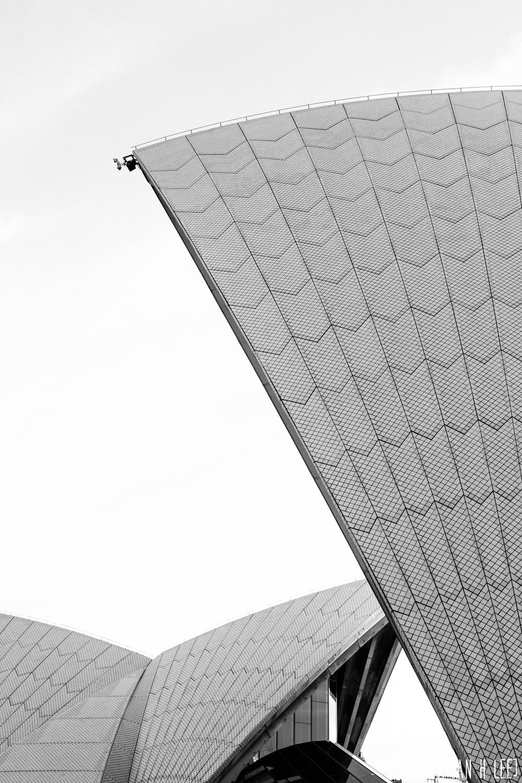 [Ian H Lee] Photography || Travel - Sydney :: Opera House Details BW.jpg