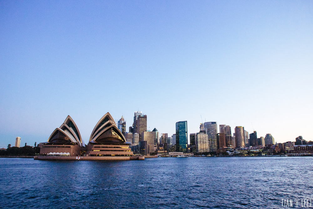 [Ian H Lee] Photography || Travel - Sydney :: Opera House View Sunset.jpg