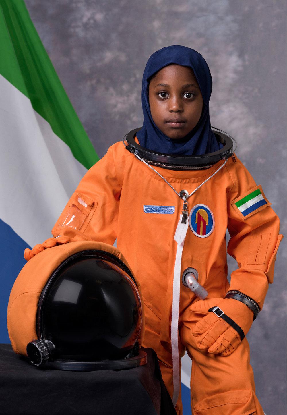Fatimah,  Sierra-Leone.