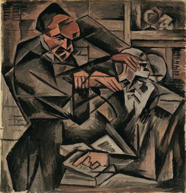 Bohumil Kubišta, Hypnotizér, 1912