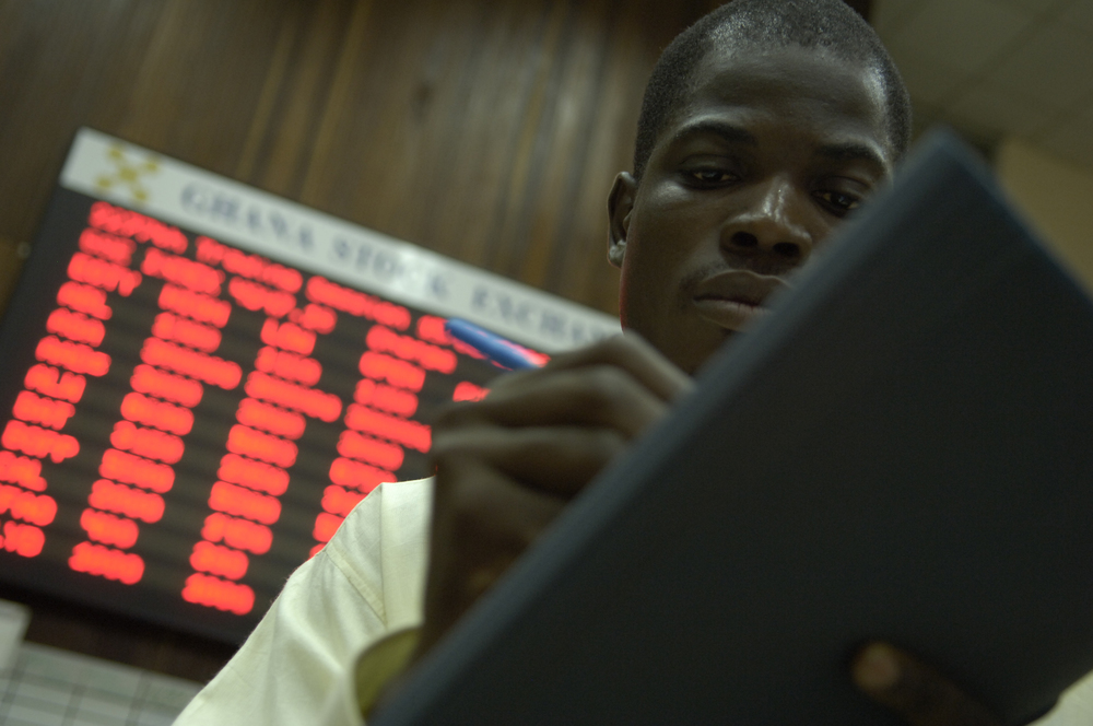 Ghana Stock Exchange. Accra. © Jonathan Ernst / World Bank