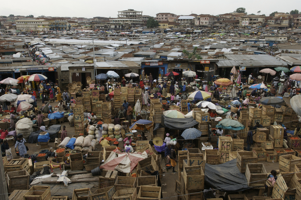 Kumasi Market. © Jonathan Ernst / World Bank