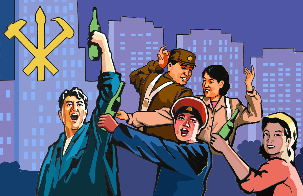 Partying in the DPRK