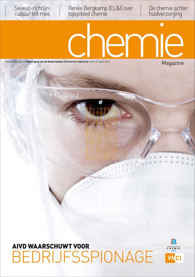 Curve: Cover Chemie-magazine