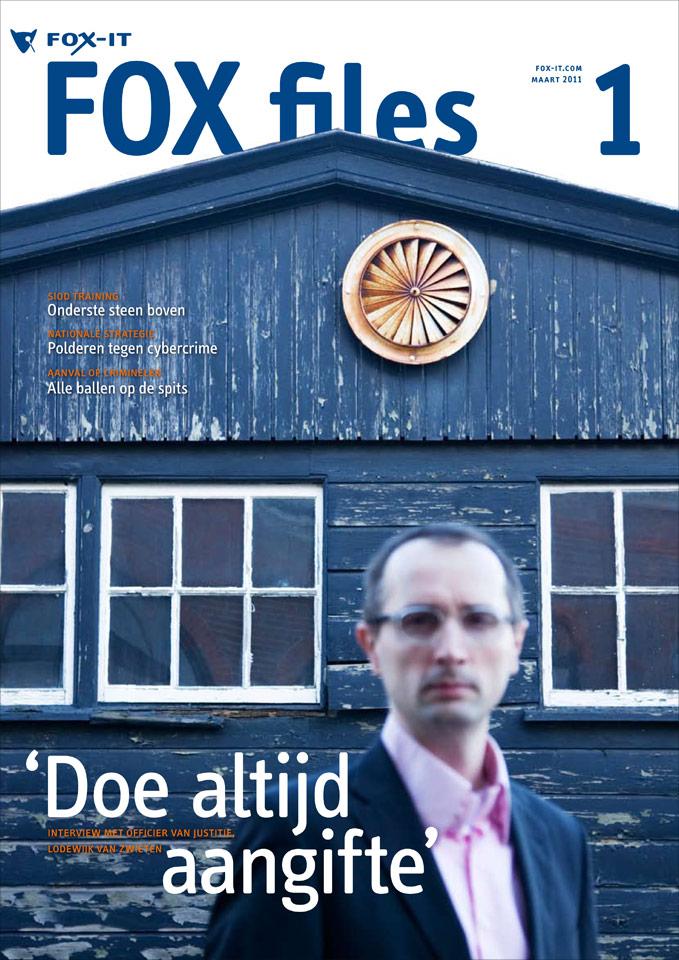 Viervier: Coverstory voor Foxfiles - magazine