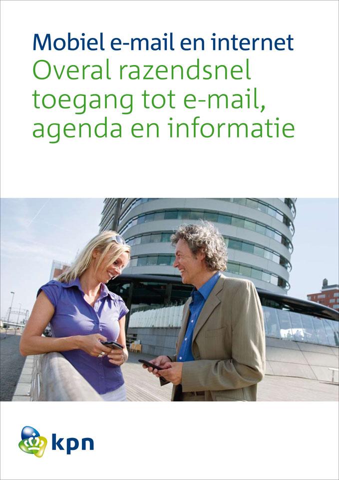 Vormvijf: Fotografie voor brochure's KPN mobiel zakelijk