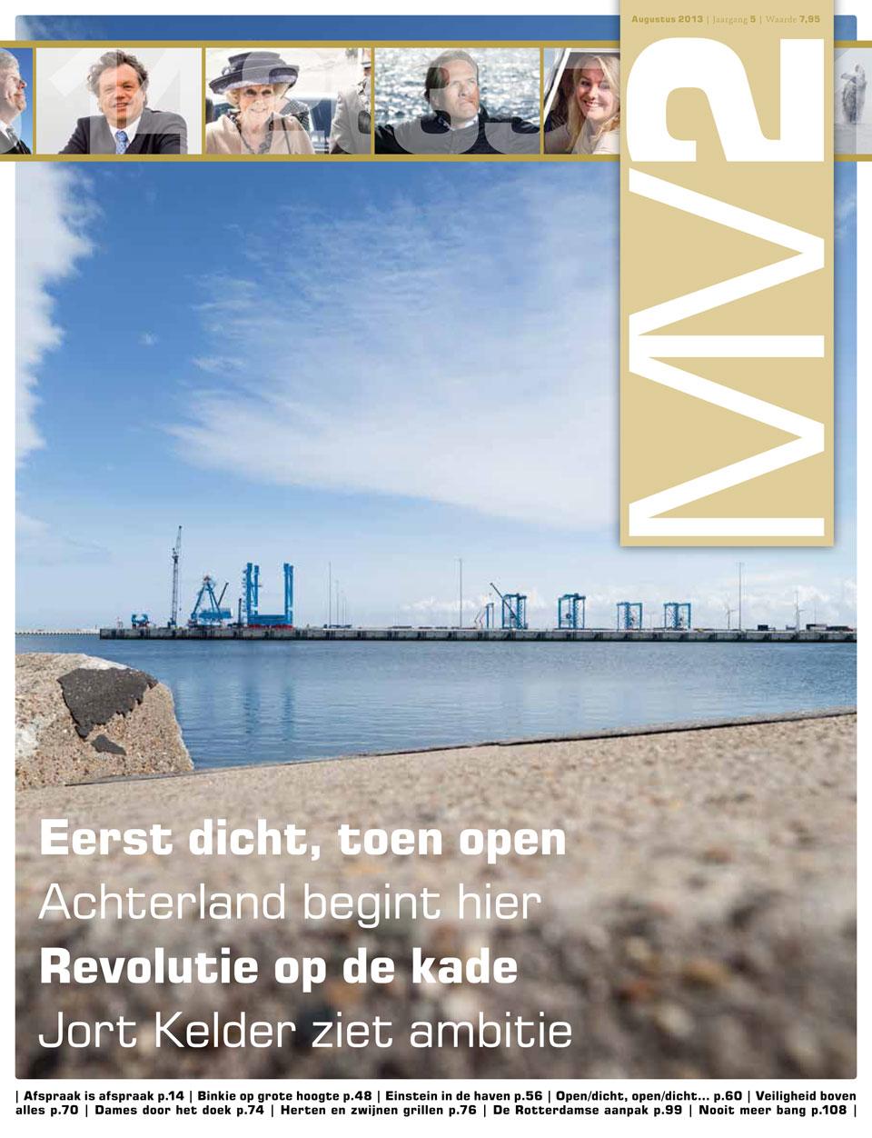Havenbedrijf: Cover MV2 - magazine