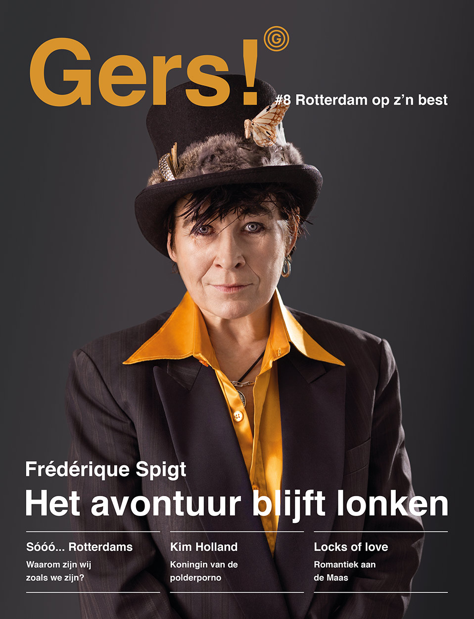 Gers! magazine #8: Coverstory Frederique Spigt