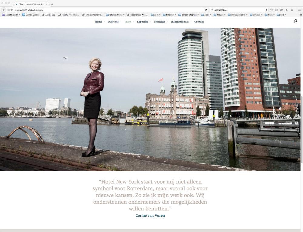 Hollandspoor: Portretten Website Lamsma, Veldstra & Lobé - Advokacaten