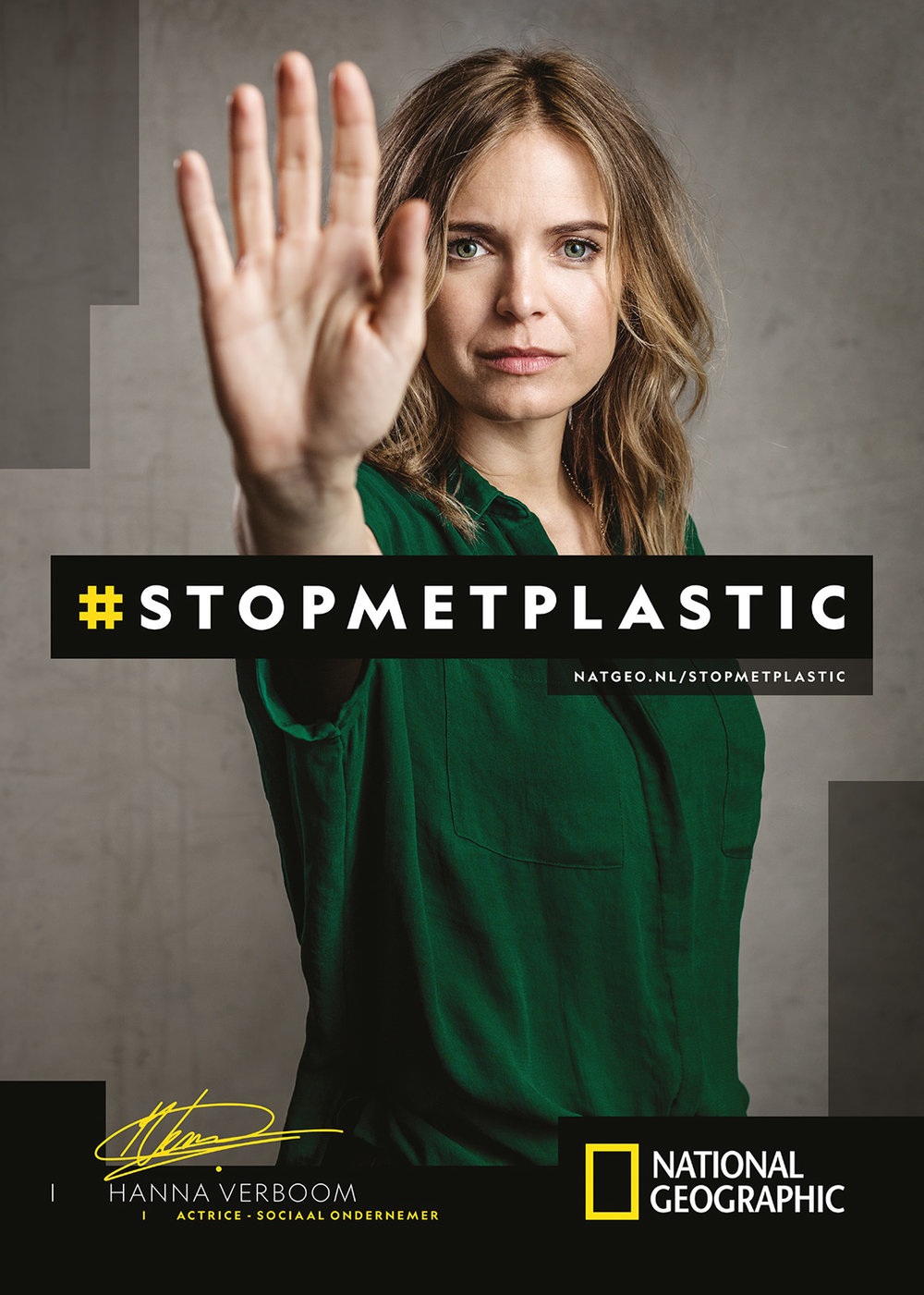 National Geographic: Campagne #STOPMETPLASTIC