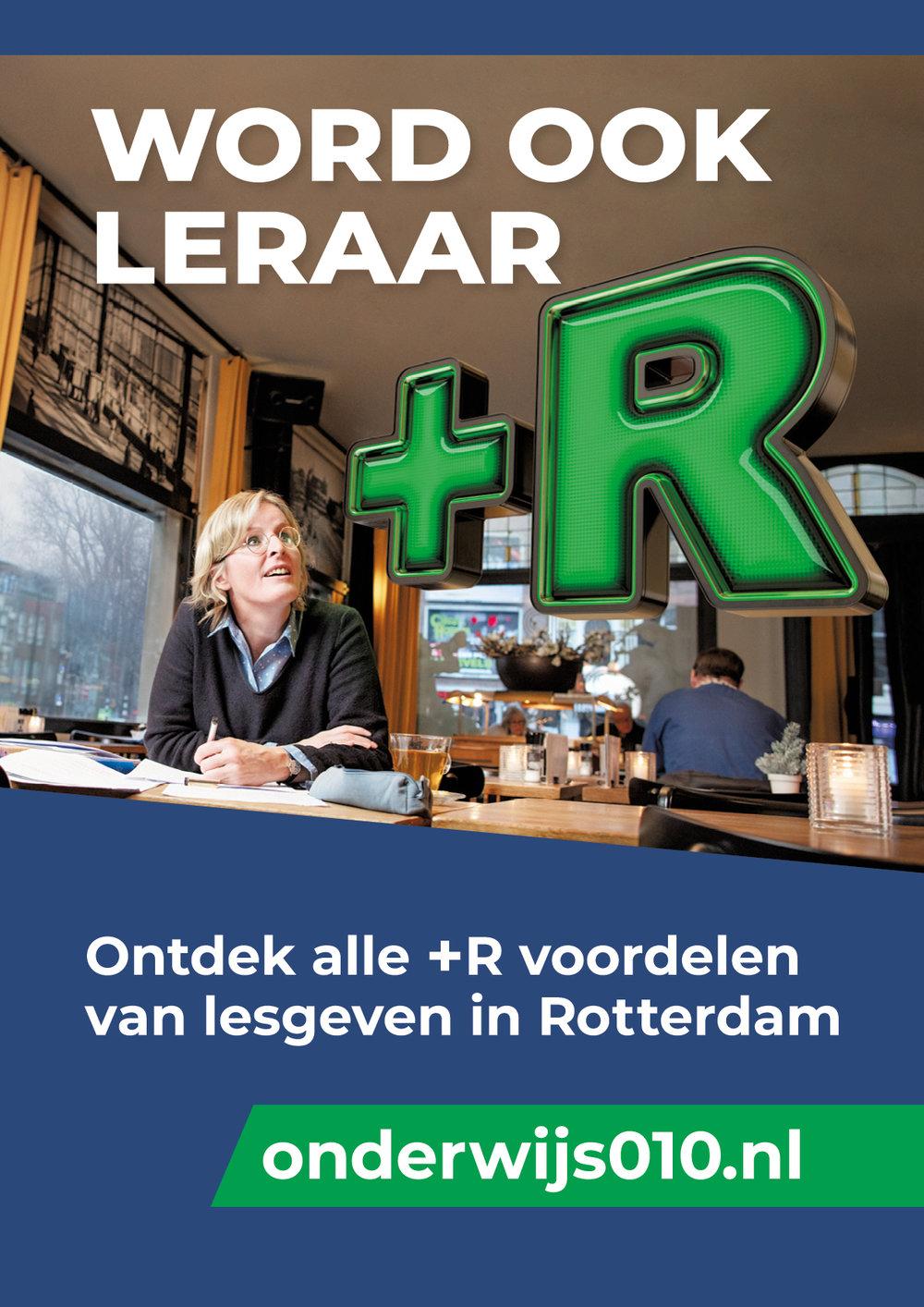 0to9: 0to9: Campagne voor 'Word een Leraar+R in Rotterdam', Simone.