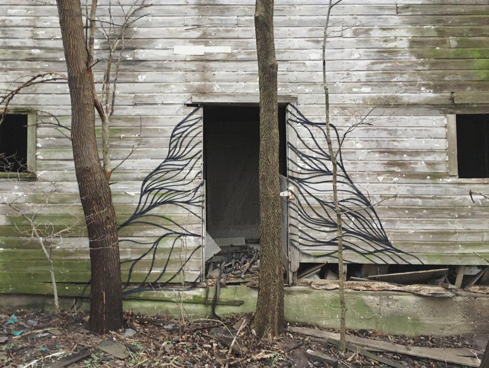 Barn mural - Iowa 2017