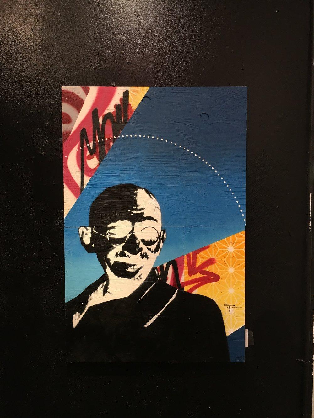 Strider Patton - Mahatma Gandhi- Idols show - San Francisco, CA 2016